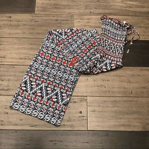 Tory Burch Smocked Jumpsuit S